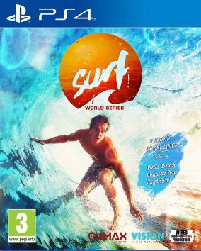 Copertina del gioco Surf World Series per Playstation 4