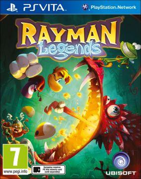 Copertina del gioco Rayman Legends per PSVITA