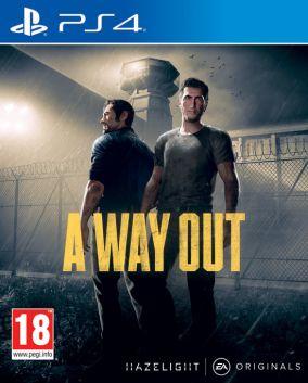 Immagine della copertina del gioco A Way Out per Playstation 4