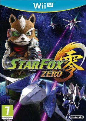 Copertina del gioco Star Fox Zero per Nintendo Wii U