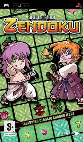 Copertina del gioco Zendoku per Playstation PSP