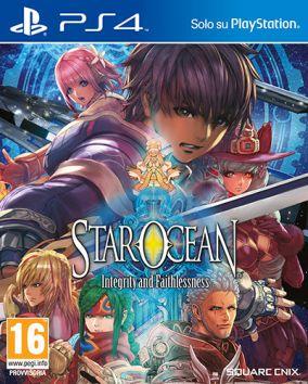 Copertina del gioco Star Ocean: Integrity and Faithlessness per Playstation 4
