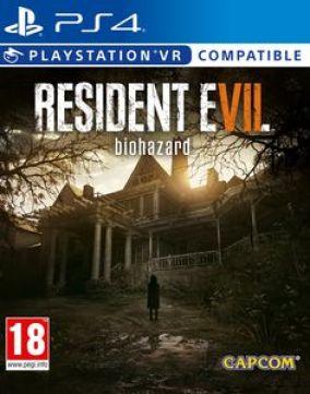 Copertina del gioco Resident Evil VII biohazard per Playstation 4