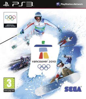 Copertina del gioco Vancouver 2010 - Il videogioco ufficiale delle Olimpiadi Invernali per Playstation 3