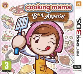 Copertina del gioco Cooking Mama 5: Bon Appetit per Nintendo 3DS