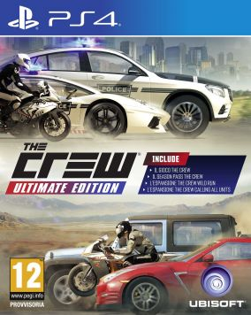 Copertina del gioco The Crew: Ultimate Edition per Playstation 4