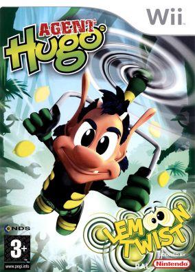 Copertina del gioco Agent Hugo: Lemoon Twist per Nintendo Wii