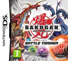 Copertina del gioco Bakugan Battle Trainer per Nintendo DS
