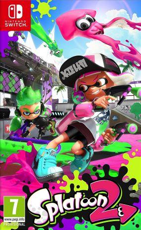 Copertina del gioco Splatoon 2 per Nintendo Switch