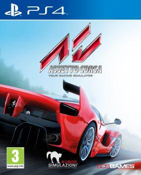 Copertina del gioco Assetto Corsa per Playstation 4