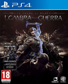 Copertina del gioco La Terra di Mezzo: L'Ombra della Guerra per Playstation 4
