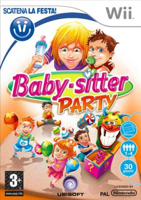 Copertina del gioco Baby-Sitter Party per Nintendo Wii