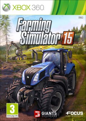 Immagine della copertina del gioco Farming Simulator 15 per Xbox 360