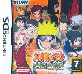 Copertina del gioco Naruto: Ninja Council per Nintendo DS