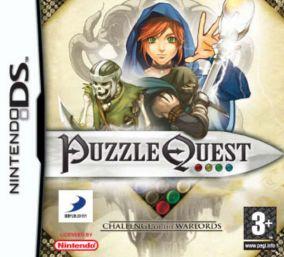 Immagine della copertina del gioco Puzzle Quest: Challenge of the Warlords per Nintendo DS