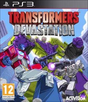 Copertina del gioco Transformers: Devastation per Playstation 3