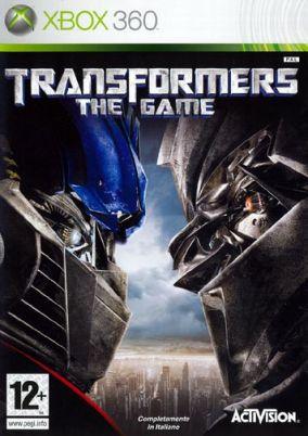 Immagine della copertina del gioco Transformers: The Game per Xbox 360