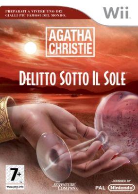 Copertina del gioco Agatha Christie: Delitto Sotto il Sole per Nintendo Wii