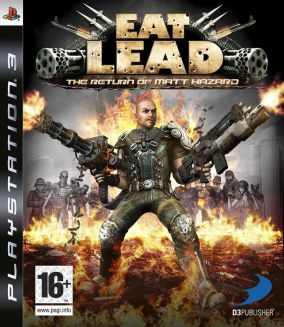 Copertina del gioco Eat Lead: The Return of Matt Hazard per Playstation 3