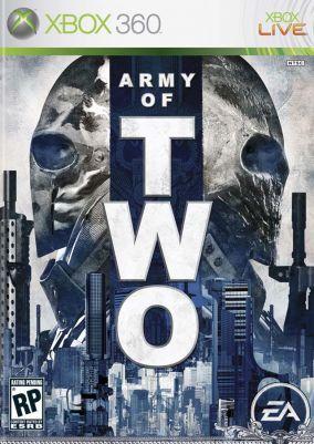 Immagine della copertina del gioco Army of Two per Xbox 360
