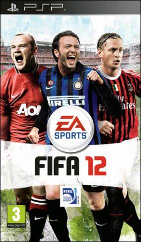 Immagine della copertina del gioco FIFA 12 per Playstation PSP