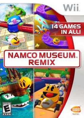 Copertina del gioco Namco Museum Remix per Nintendo Wii