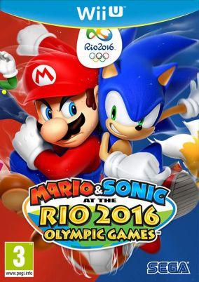 Copertina del gioco Mario & Sonic ai Giochi Olimpici di Rio 2016 per Nintendo Wii U