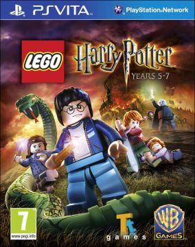 Immagine della copertina del gioco LEGO Harry Potter: Anni 5-7 per PSVITA