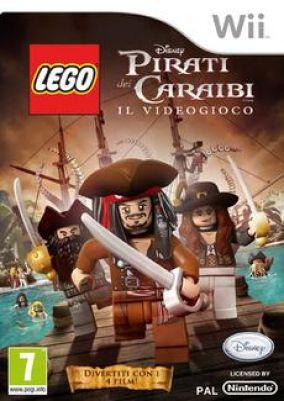 Immagine della copertina del gioco LEGO Pirati dei Caraibi per Nintendo Wii