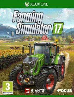 Copertina del gioco Farming Simulator 17 per Xbox One
