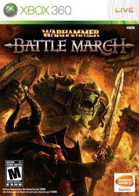 Copertina del gioco Warhammer: Battle March per Xbox 360