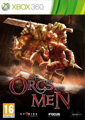 Copertina del gioco Of Orcs and Men per Xbox 360