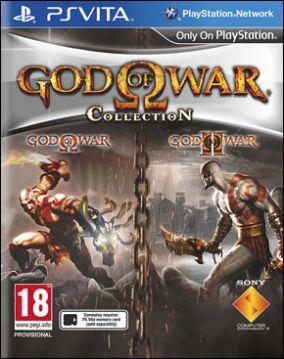 Copertina del gioco God of War Collection per PSVITA