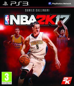 Immagine della copertina del gioco NBA 2K17 per Playstation 3