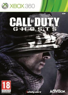 Immagine della copertina del gioco Call of Duty: Ghosts per Xbox 360
