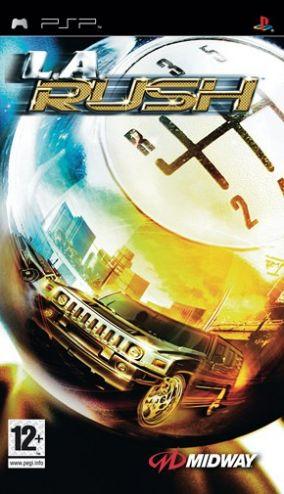 Copertina del gioco L.A. Rush per Playstation PSP