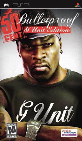 Copertina del gioco 50 Cent: Bulletproof G-Unit Edition per Playstation PSP