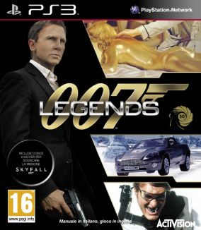 Copertina del gioco 007 Legends per Playstation 3