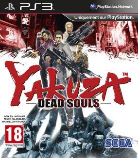 Copertina del gioco Yakuza: Dead Souls per Playstation 3