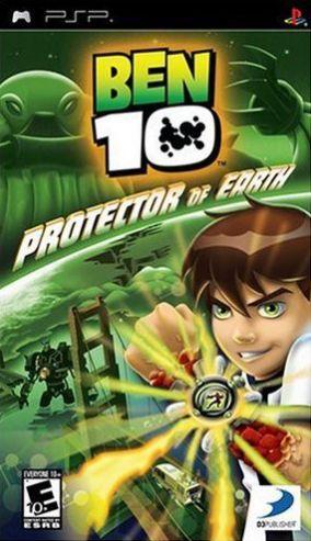 Immagine della copertina del gioco Ben 10: Il Difensore della Terra per Playstation PSP