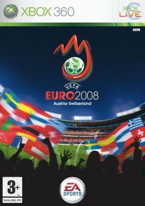 Copertina del gioco UEFA Euro 2008 per Xbox 360