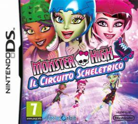 Copertina del gioco Monster High: Il Circuito Scheletrico per Nintendo DS