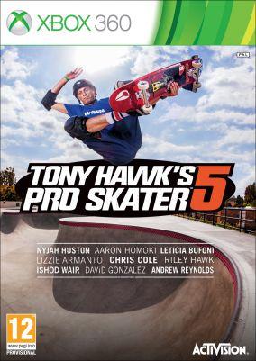 Copertina del gioco Tony Hawk's Pro Skater 5 per Xbox 360