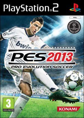 Copertina del gioco Pro Evolution Soccer 2013 per Playstation 2