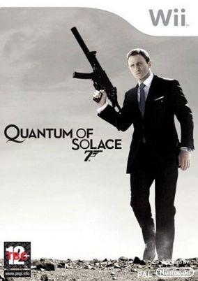 Copertina del gioco James Bond: Quantum of Solace per Nintendo Wii