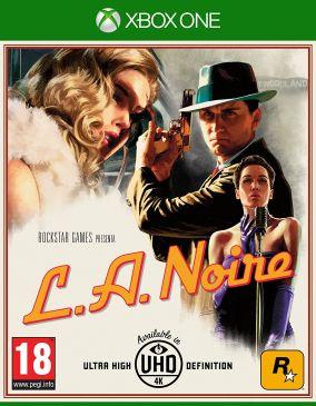 Copertina del gioco L.A. Noire per Xbox One