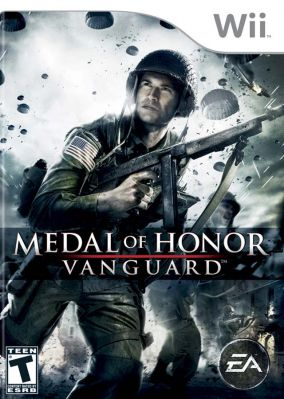 Immagine della copertina del gioco Medal of Honor: Vanguard per Nintendo Wii