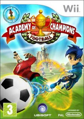 Copertina del gioco Academy of Champions: Football per Nintendo Wii
