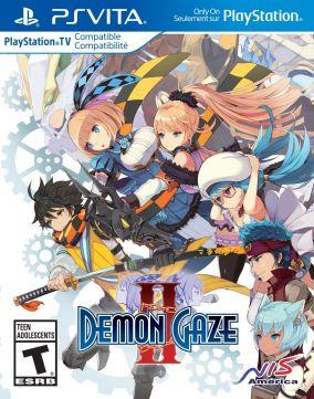 Copertina del gioco Demon Gaze II per PSVITA