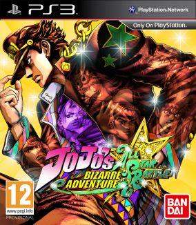 Copertina del gioco JoJo's Bizarre Adventure All Star Battle per Playstation 3